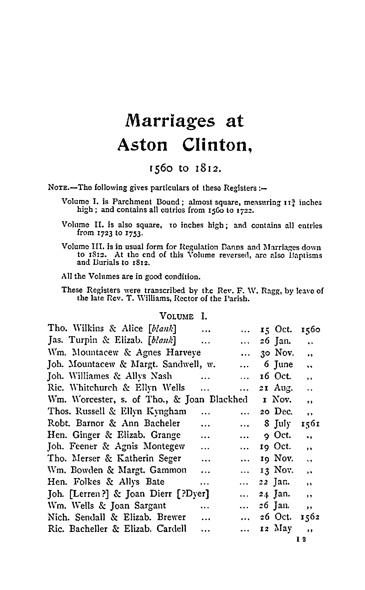 Buckinghamshire Parish Registers - Marriages volume 2 page 115 - click to open larger version in a new window