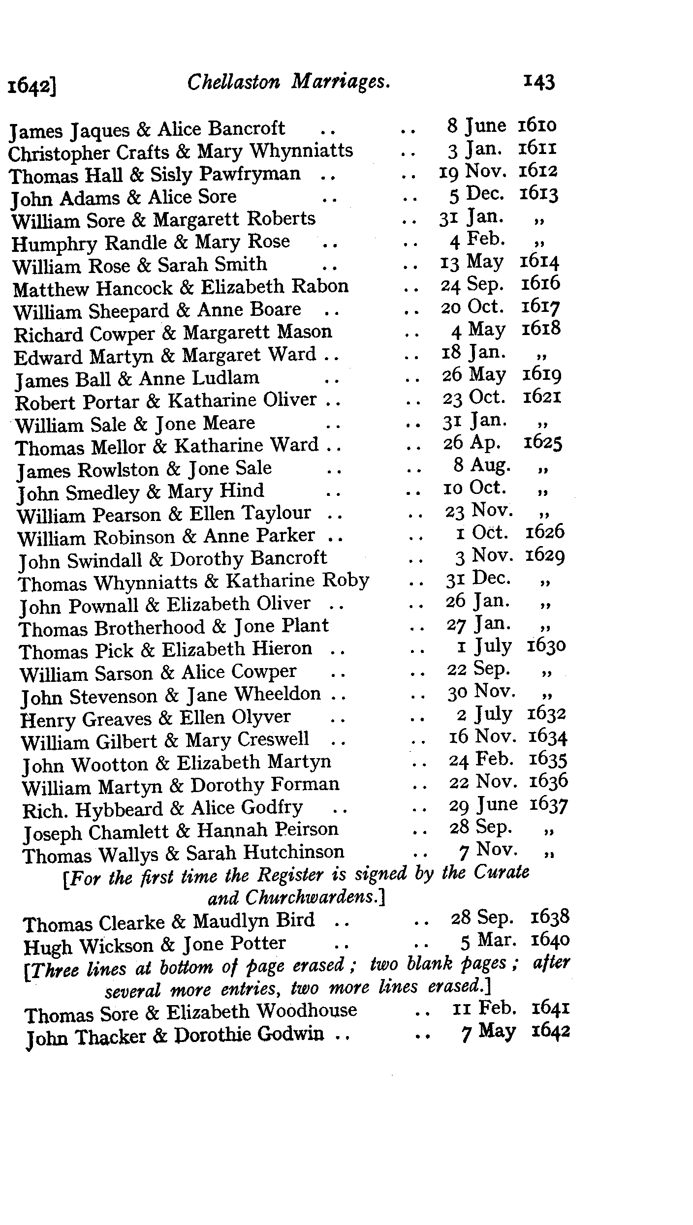 Derbyshire Parish Registers - Marriages volume 6 page 140 - click to open larger version in a new window