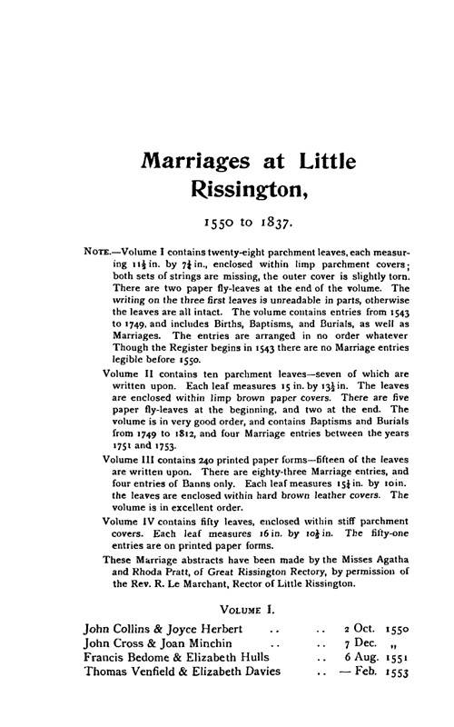 Gloucestershire Parish Registers - Marriages volume 17 page 125