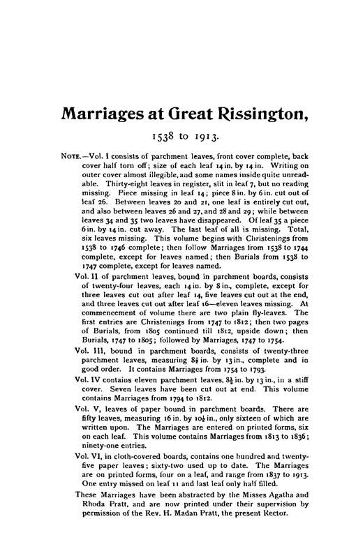 Gloucestershire Parish Registers - Marriages volume 17 page 57
