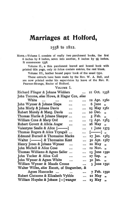 Somerset Parish Registers - Marriages volume 12 page 73