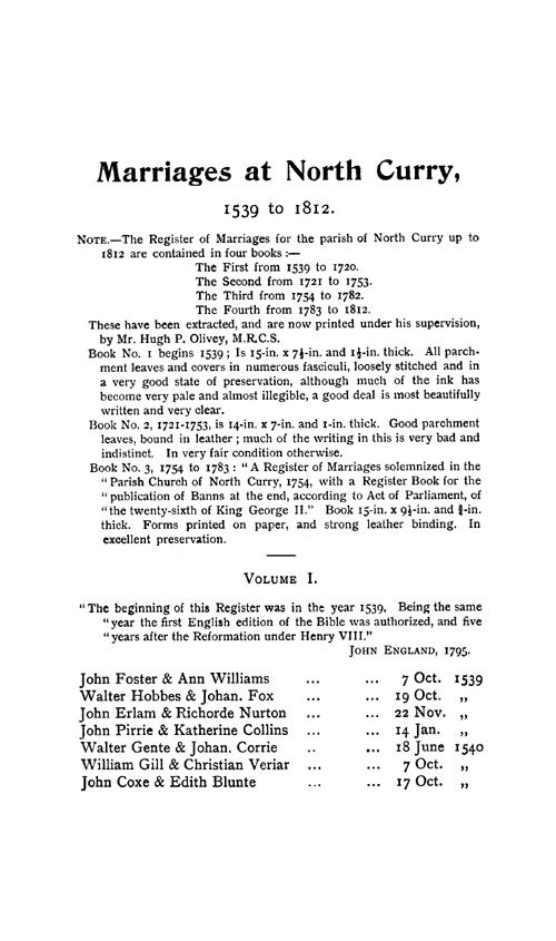 Somerset Parish Registers - Marriages volume 2 page 75 - click to open larger version in a new window