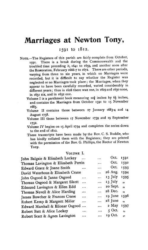 Wiltshire Parish Registers - Marriages volume 3 page 133 - click to open larger version in a new window