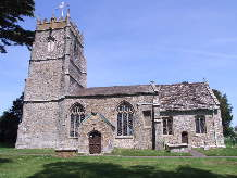 St Thomas à Becket Church, Lydlinch, Dorset