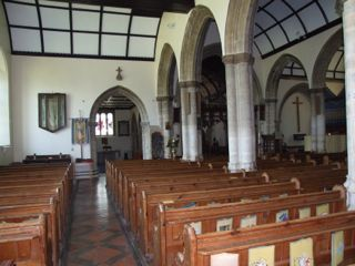 North aisle of St. Mary, Stalbridge