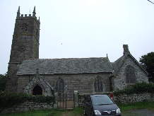 Crowan church, Cornwall