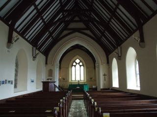 Nave of St. Mawes church