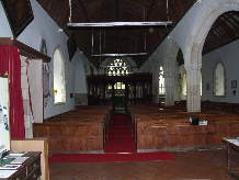 Nave of the Church of All Saints or St. Ewe