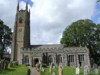 Church of St. Andrew, Sampford Courtenay, Devon