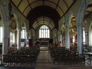 Nave of St. Andrew, Sampford Courtenay, Devon