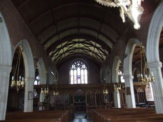 Nave of St. Mary, Berry Pomeroy