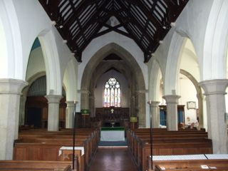 Nave of St. Edmund, King and Martyr, Kingsbridge