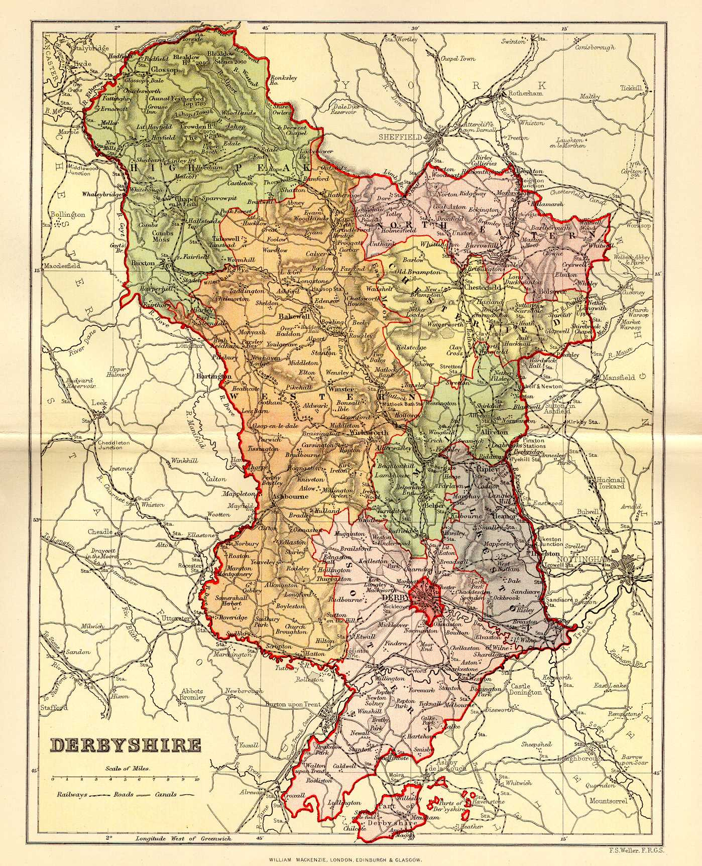 Map Of England Derbyshire.Derbyshire Genealogy Heraldry And Family History