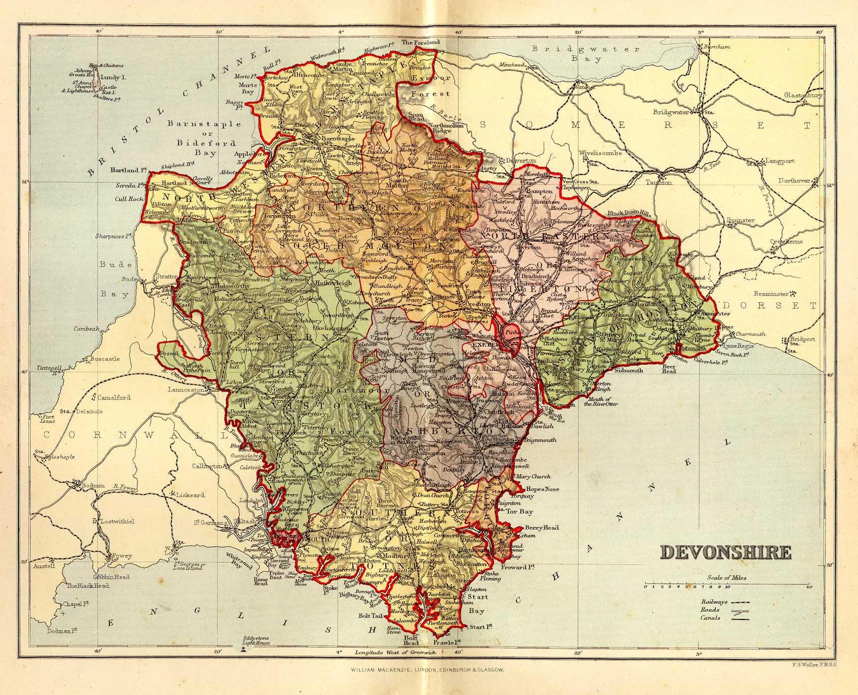 Devon genealogy heraldry and family history