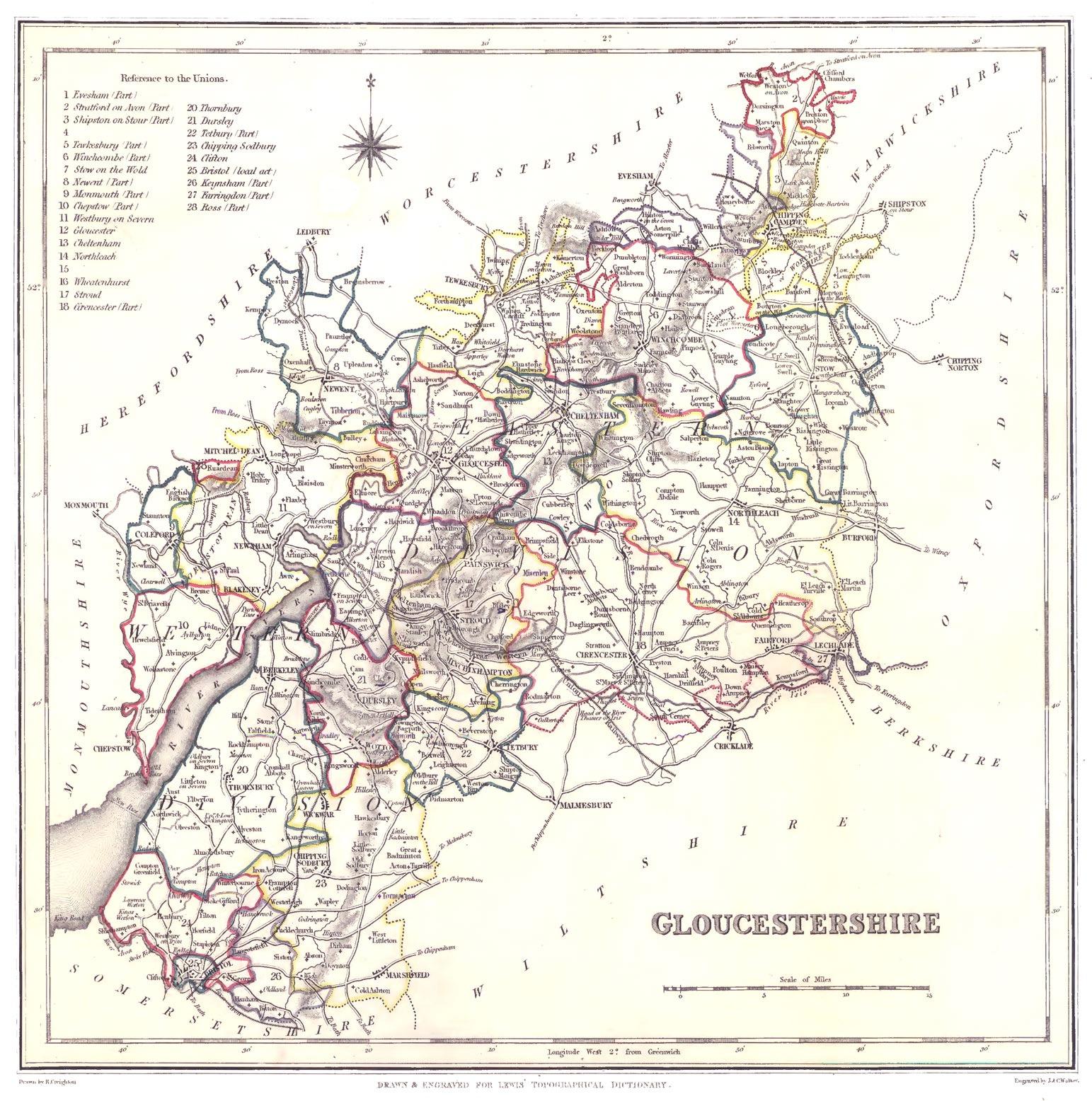 Gloucestershire genealogy heraldry and family history