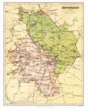 Map of Huntingdonshire
