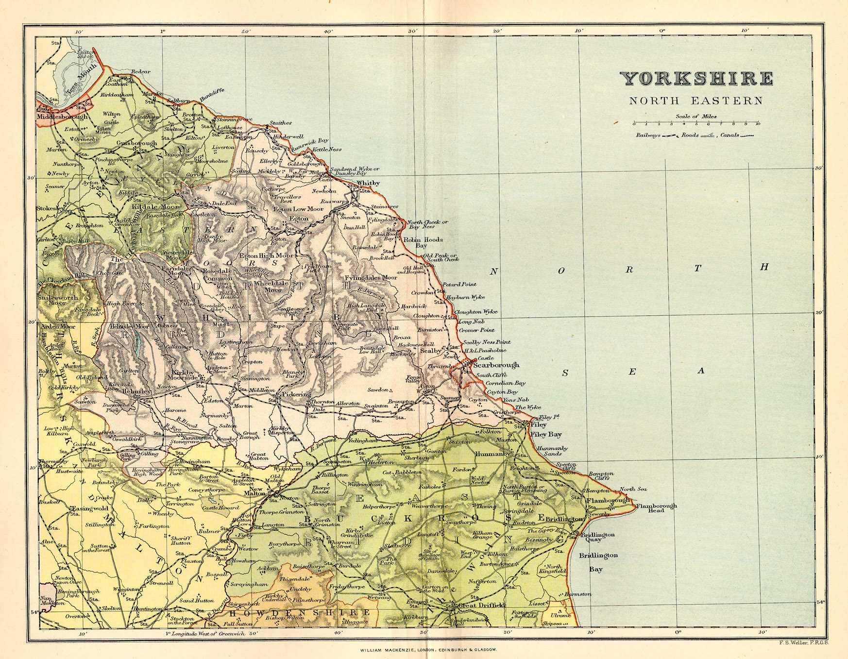 Worksheet. Historical description of Yorkshire England