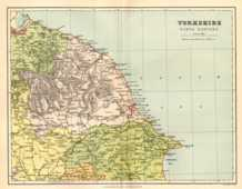 Map of North East Yorkshire