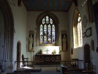 Chancel aisle of St. John the Evangelist, Milborne Port