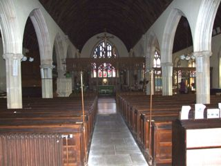 Nave of All Saints', Dulverton
